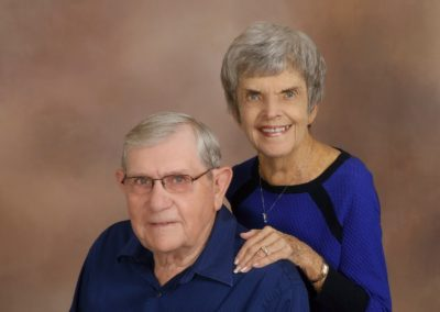 Jim & Carole Heubner The United Methodist Church located in Petersburg IL Illinois 62675
